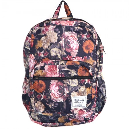 Beekeeper Parade Royal Backpack Antique Floral