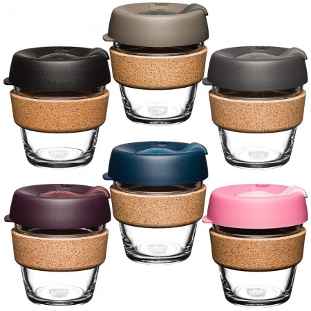KeepCup XS Glass Cup Cork Band 6oz (177ml)
