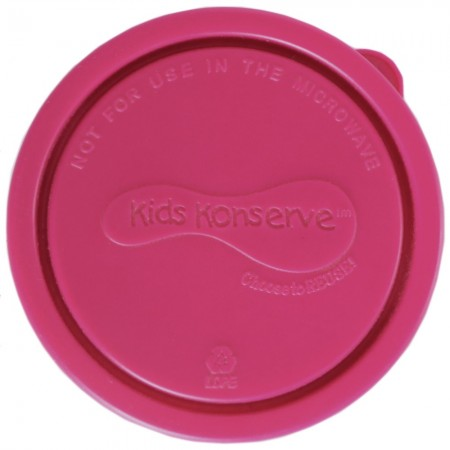 U Konserve Replacement Lid for Small Round Container - Magenta