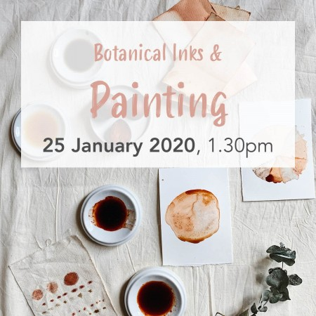 'Botanical Ink and Nature Painting' with Petal Plum Sat Jan 25 Brisbane Workshop