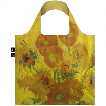 Loqi Reusable Shopping Bag - Vincent Van Gogh Sunflowers Edition 2