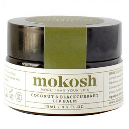 Mokosh Coconut and Blackcurrant Lip Balm 15ml