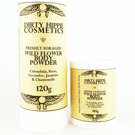 Dirty Hippie Cosmetics Wild Flower Body Powder