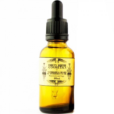 Dirty Hippie Cosmetics Nourishing Beard & Aftershave Oil 30ml