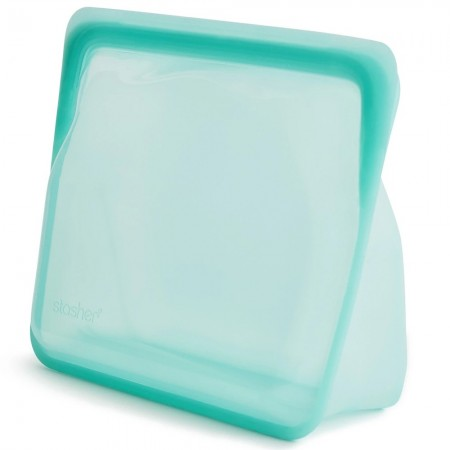 Stasher Stand Up Silicone Storage Bag 1.66L - Aqua