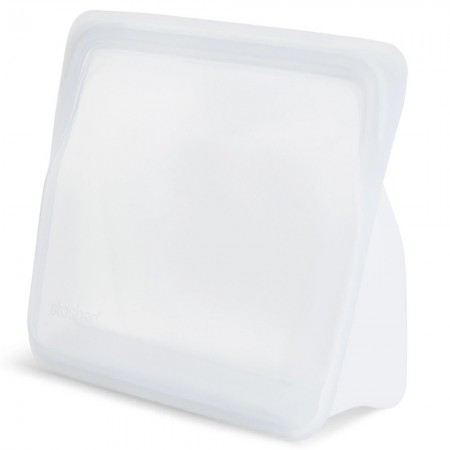 Stasher Stand Up Silicone Storage Bag 1.66L - Clear