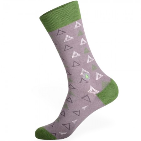 Conscious Step Socks That Plant Trees (Triangles) - Long Womens