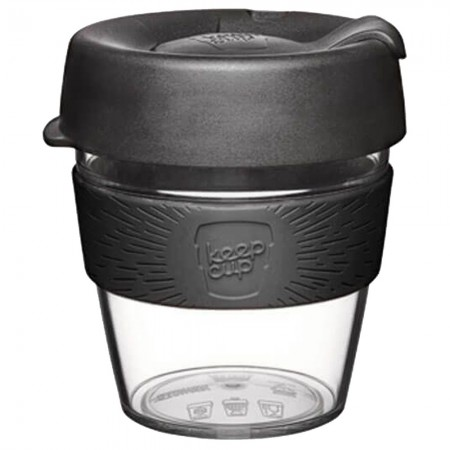 KeepCup Small Clear Plastic Coffee Cup 8oz (227ml)