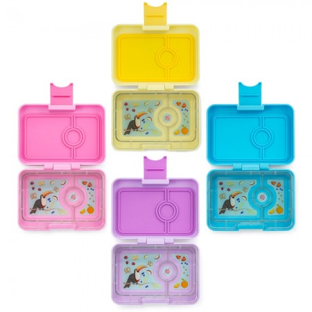 Yumbox MiniSnack 3 Compartment (New Colours)
