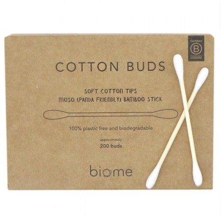 Biome Bamboo Cotton Buds 200pcs