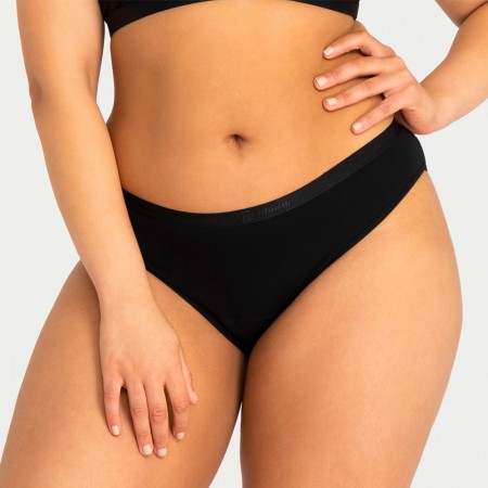 Modibodi Vegan Bikini Period Undies Heavy/Overnight - Black