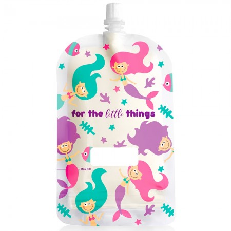 Sinchies Reusable Pouches 200ml (10 pk) - Mermaids