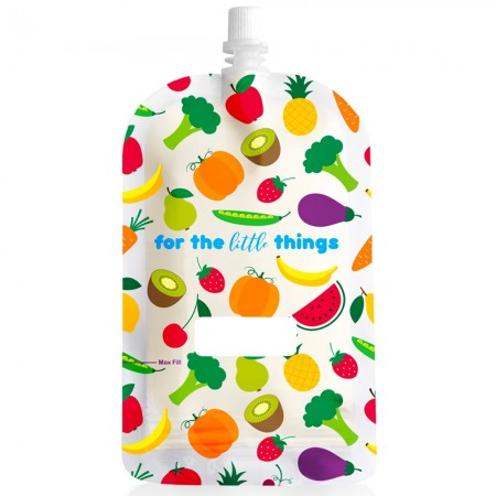 Sinchies Reusable Pouches 200ml (10 pk) - Fruit
