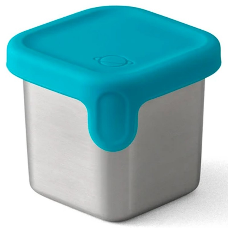 Planetbox Launch Dipper Small Square 2.4oz 70ml - Teal
