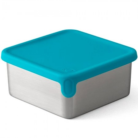 Planetbox Launch & Shuttle Dipper Big Square 12.3oz 365ml - Teal