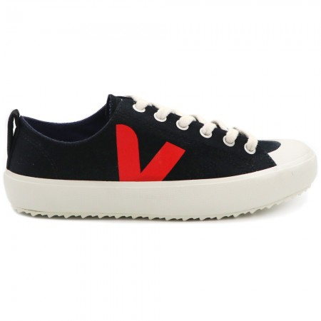 VEJA Women Nova Canvas Sneakers - Black & Pekin