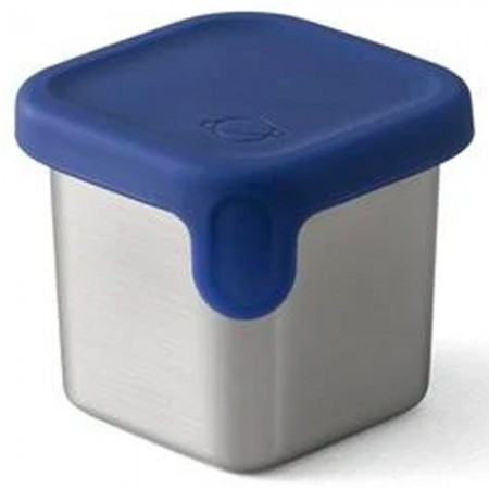 Planetbox Launch Dipper Small Square 2.4oz 70ml - Navy