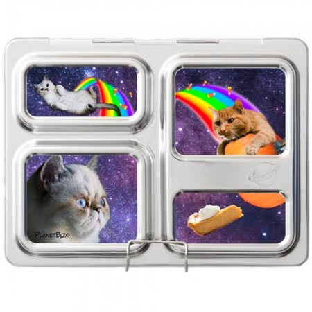 Planetbox Launch Kit SPACE CATS (Box, Dipper, Magnets, Carry Bag)