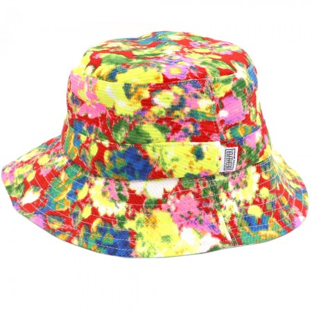 Beekeeper Parade Bucket Hat Large/Adult - Hibiscus