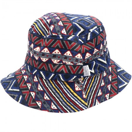 Beekeeper Parade Bucket Hat Small/Child - Navy Aztec