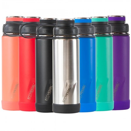 EcoVessel Boulder Triple Insulated Bottle 600ml