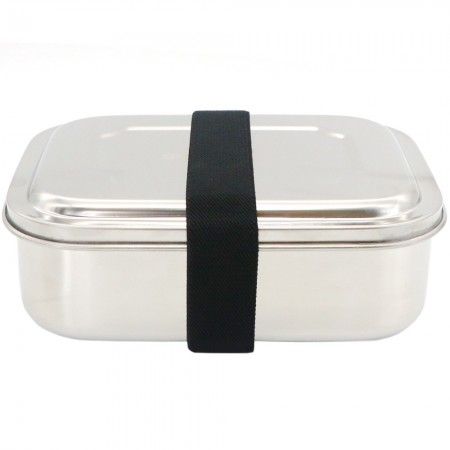 Green Essentials Snack-a-Bento Trio Stainless Steel Lunch Box