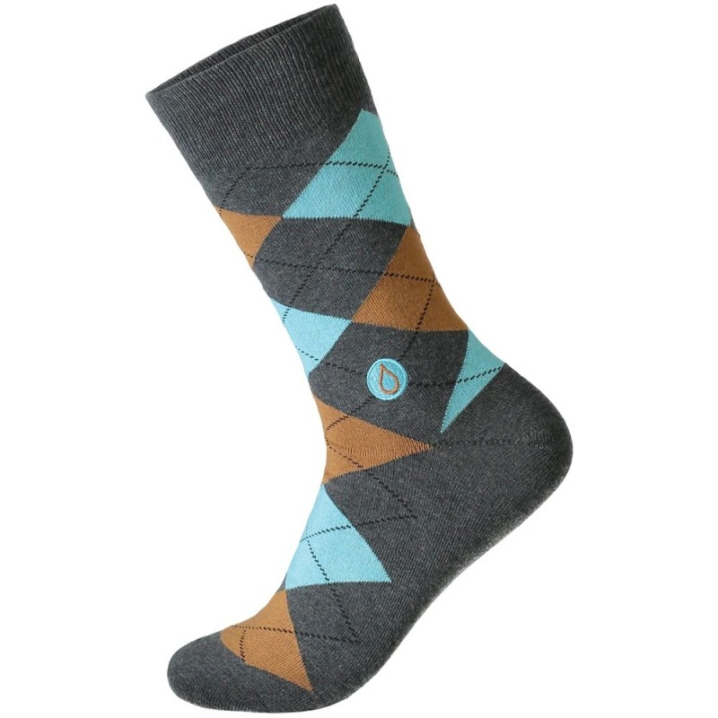 Socks that Give Water - Men's Argyle