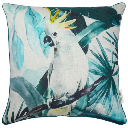 Audrey Gachet Cushion Cover - Cockatoo