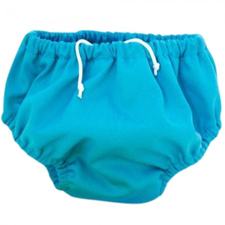 Pea Pods Swimmer Nappy - Aqua Blue