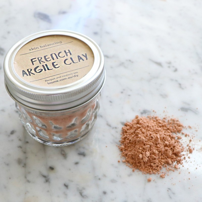 Pink (French Argile) Clay in Glass Jar 50g