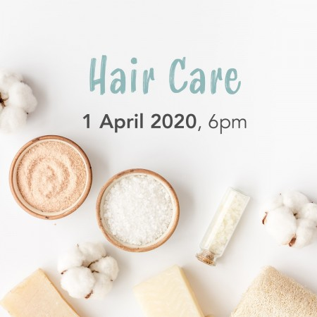 'How To: Hair Care' Wed April 1, Paddington, QLD Workshop