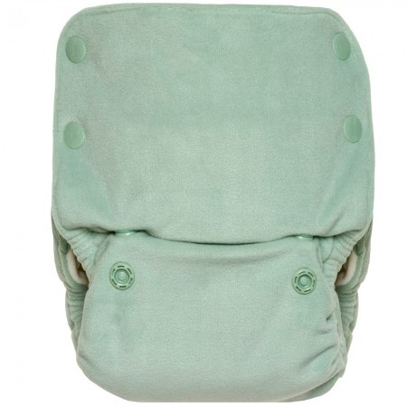 GroVia Buttah Organic All In One Nappy - Glacier