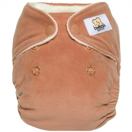 GroVia Newborn All in One Nappy - Buttah Clay