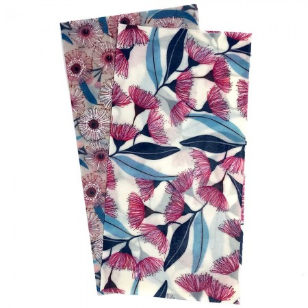 Queen B Beeswax Wraps Medium (2pk)