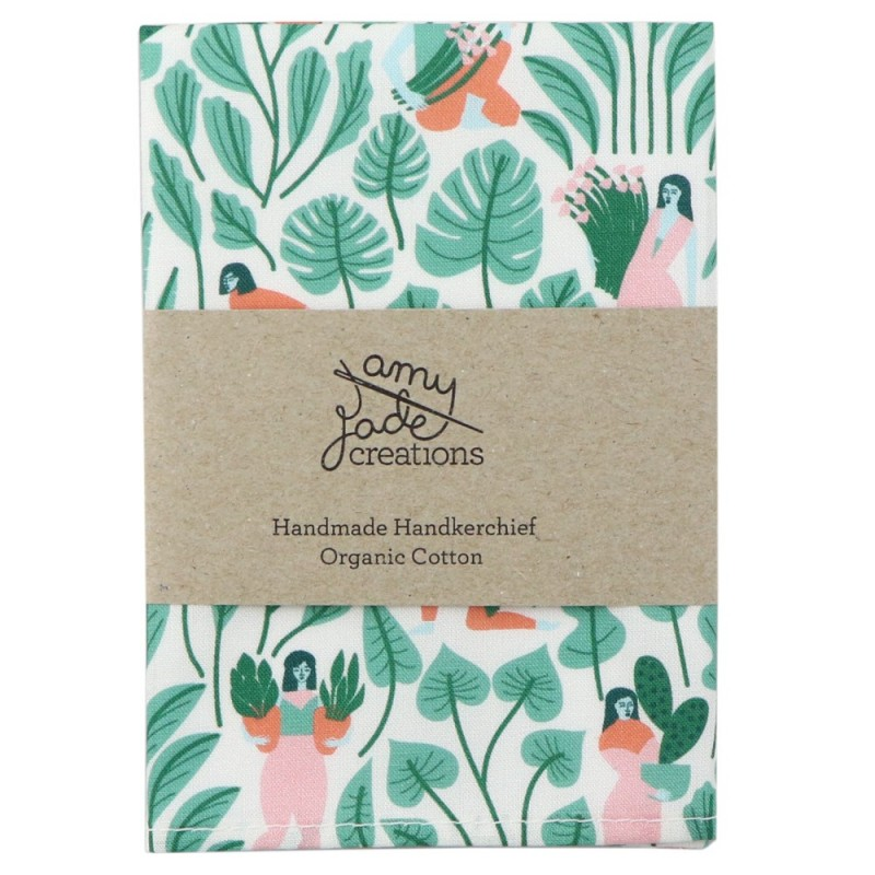 Organic Cotton Handkerchief Botanical Babes