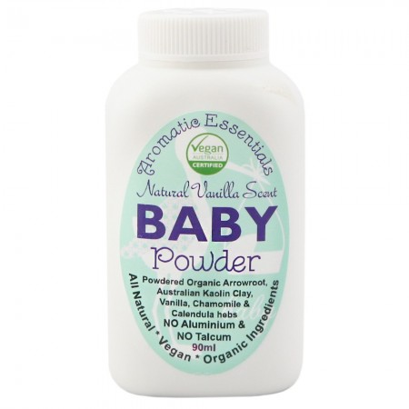 Aromatic Essentials Travel Size Baby Powder 90ml- Vanilla