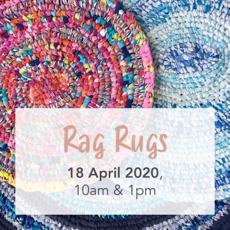 'Rag Rugs with The Sewloist' Sat 18 April Gold Coast Workshop AM