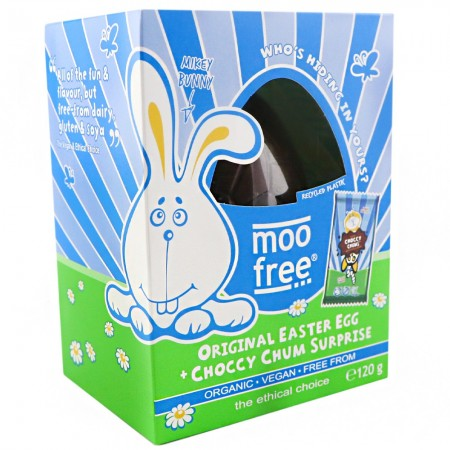 Moo Free Organic Dairy Free Easter Egg with Choccy Chums