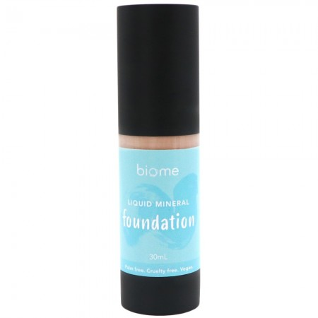 Biome Liquid Mineral Foundation 30ml - Bisque