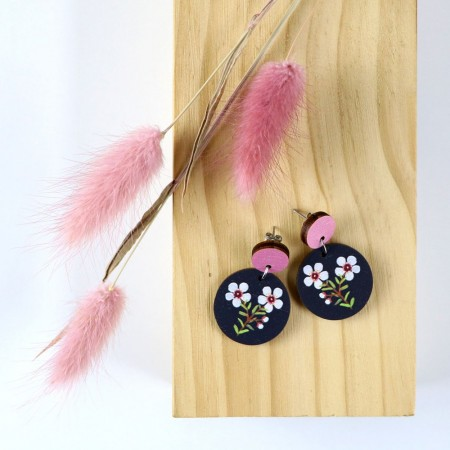 Pixie Nut and Co Geraldton Wax Earrings