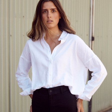 Hemp Clothing Australia Stirling Shirt - White