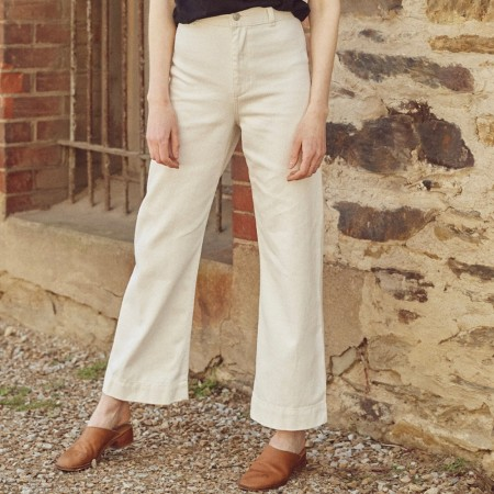 Hemp Clothing Australia Newport Pant - Natural