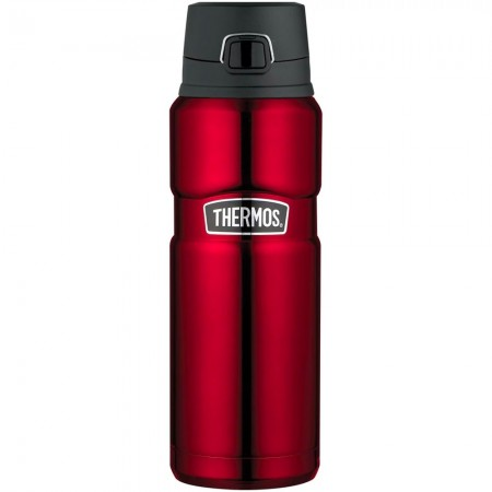 Thermos King Vacuum Insulated Bottle with Flip Lid 710ml - Cranberry