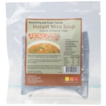 Nutritionist Choice Instant Miso Soup Sachets 4x20g