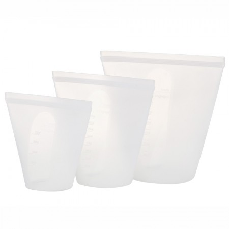 Ecopocket Silicone Pouch 3pk - Clear