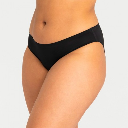 Modibodi Seamfree Bikini Moderate/Heavy - Black