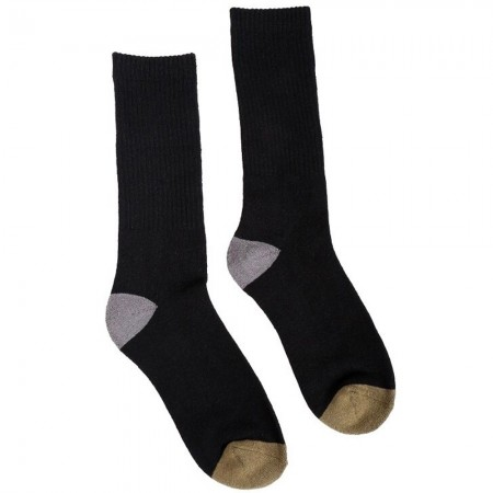Hemp Clothing Australia Crew Socks - Black