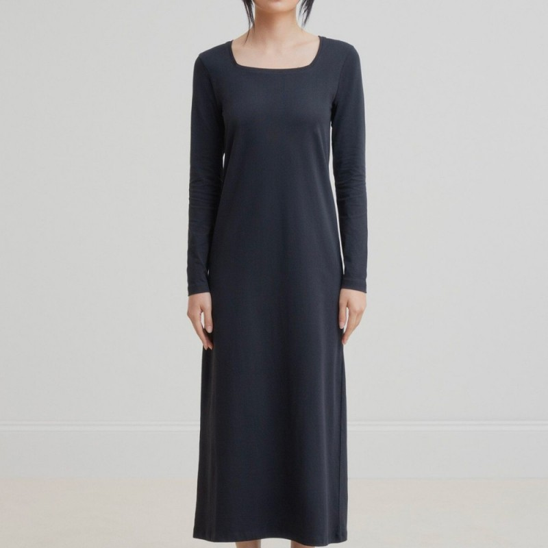 Kowtow Square Neck Dress