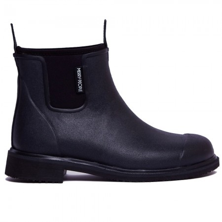 Merry People Bobbi Gumboot - Black & Black
