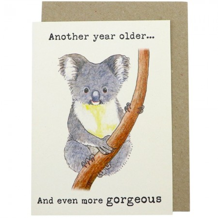 Paula Peeters Wildlife Greeting Card - Koala Gorgeous